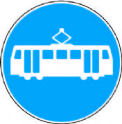 Route For Trams Only